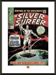 Obraz w ramie - Silver Surfer The Origin