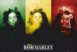 Bob Marley (flag) - plakat