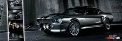 Easton (Shelby GT 500) - plakat