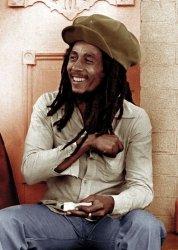 Bob Marley (rolling 2) - plakat