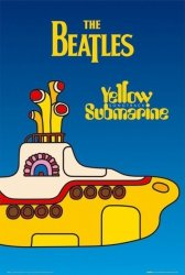 The Beatles (yellow submarine cover) - plakat
