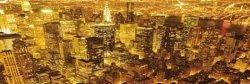 New York (Golden) - plakat
