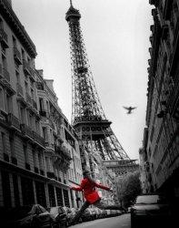La Veste Rouge (Paryż) - plakat