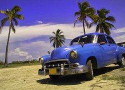 Fototapeta na ścianę - Kuba, limuzyna I - 254x183 cm