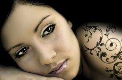 Fototapeta - Naturalne piękno kobiety - 175x115 cm