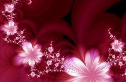 Fototapeta na ścianę - Garland of flowers - 175x115 cm