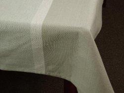 Obrus na stół - Szary - 100% Bawełny - 140x230cm