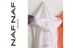 Szlafrok - Biały - M - NAF NAF - 100% Bawełna