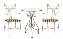 Komplet mebli - Krzesła - Stół szklany