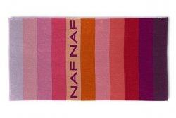 Ręcznik plażowy - frotte - Balboa czerwony - NAF NAF 90x180cm