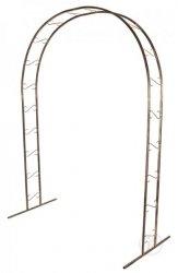 Pergola ogrodowa brama metalowa
