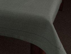 Obrus na stół - 100% bawełny - Grafitowy - 90x90cm