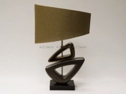 Lampa stołowa - FUSION BL - 42x22x58cm