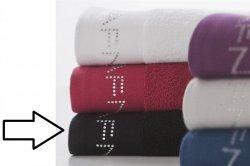 Ręcznik kąpielowy - Czarny - 100% Bawełna - 70x140 cm
