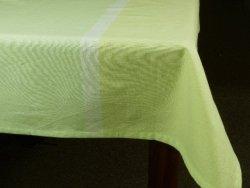 Obrus na stół - 100% Bawełny - Limonka - 140x230cm