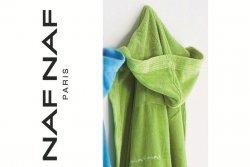 Szlafrok - Zielony - L - 100% Bawełna - NAF NAF