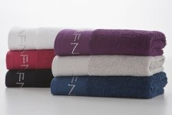 Ręcznik - Diamonds Biały - NAF NAF - 50x100 cm