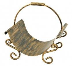 Kosz Na Drewno - Zdobiony