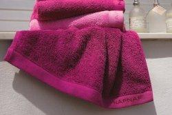 Ręcznik bawełniany fuksja - 50x100 cm - NAF NAF