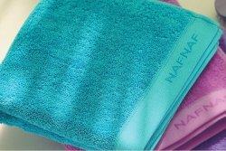 Ręcznik frotte - NAF NAF - Turkusowy - 30x50 cm