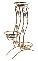 Kwietnik metalowy - Stojak na kwiaty - Wieża 3
