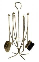 Zestaw kominkowy - akcesoria do kominka - 5 części