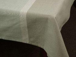 Obrus na stół - Pastelowa szarość - 100% Bawełny - 140x180cm