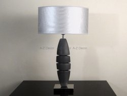 Lampa stołowa - Piasek FUSO - 40x20x66cm