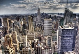 Fototapeta do salonu - New York, sleepless - 366x254 cm