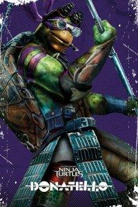 Wojownicze żółwie ninja (Donatello) - plakat