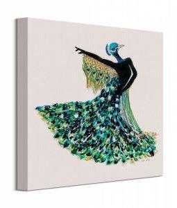 Peacock Dancer - obraz na płótnie
