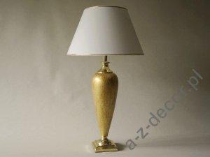 Lampa stołowa - TRIANON - Złota - 40x73cm