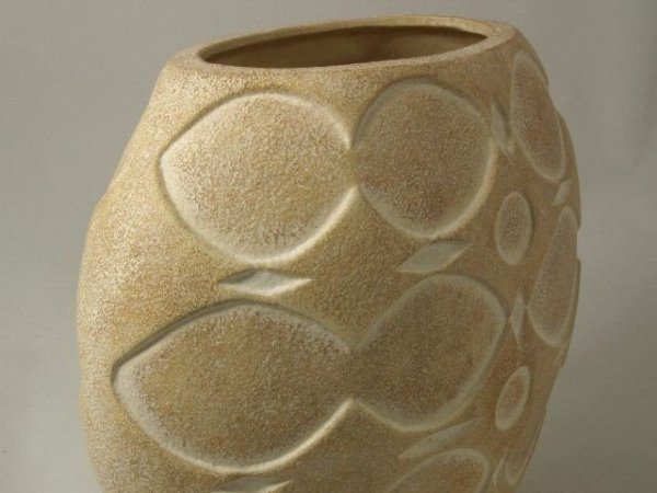 Vaso in ceramica 27x16x27cm