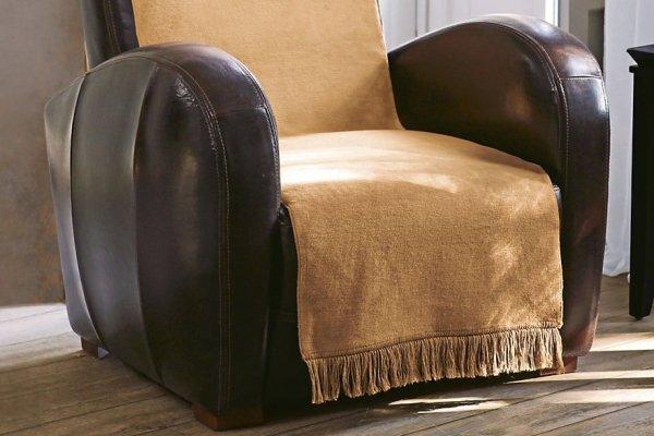Narzuta na fotel - 50x200 cm - Beż