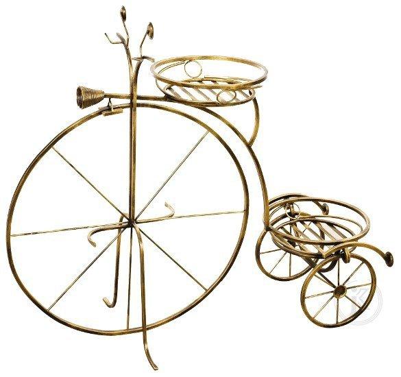 Kwietnik rower - Kwietniki metalowe DecoArt24.pl