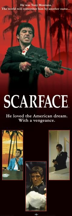 Scarface (american dream) - plakat