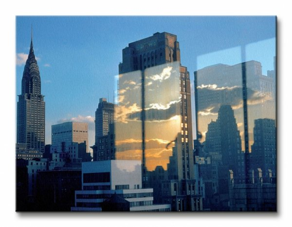 Skyline, New York, 1957 - Obraz na płótnie
