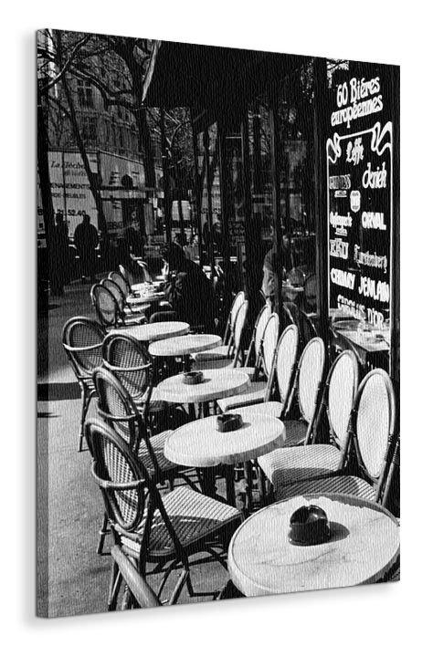 Parisian Café - Obraz na płótnie