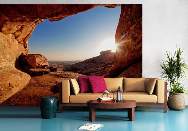 Fototapeta ścienna - Grota na pustyni - 254x183 cm