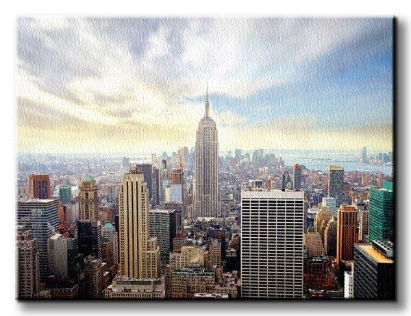 Obraz na płótnie - Nowy Jork - Manhattan, New York - 90x120 cm
