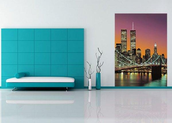 Fototapeta na ścianę - Nowy Jork, Manhattan kolor - 183x254cm