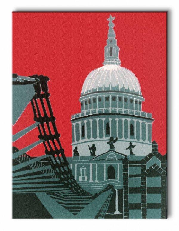 St Paul's Cathedral - Obraz na płótnie