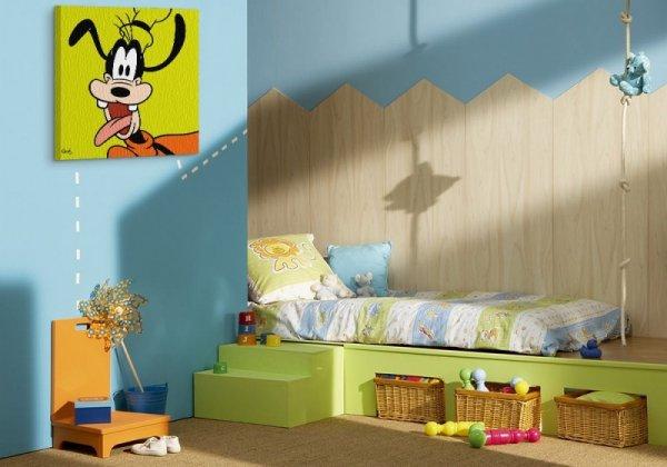 Goofy (Lime) - Obraz na płótnie