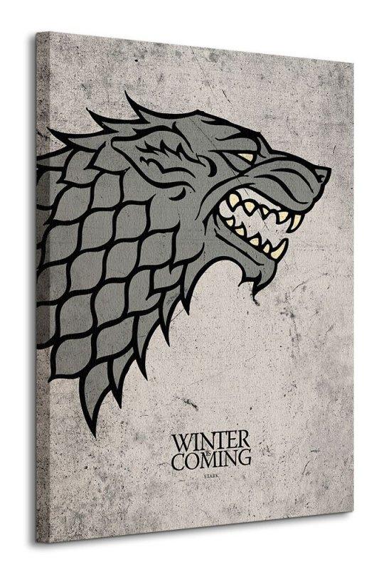 Obraz na płótnie - Gra o tron (Stark)