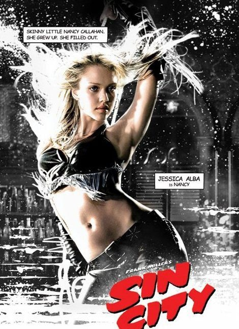 Sin City (Jessica Alba, Nancy) - plakat