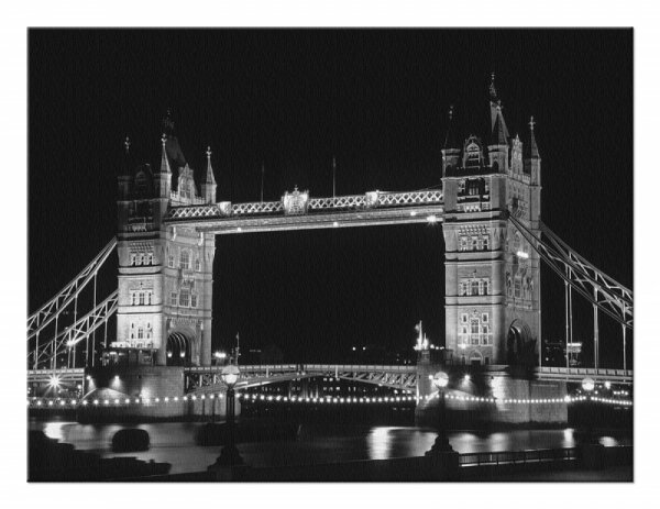 Obraz na płótnie - Tower Bridge, Londyn - DecoArt24.pl