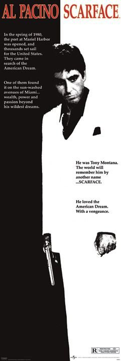 Scarface (film poster) - plakat