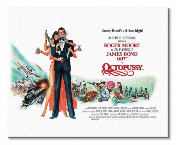 James Bond Ośmiorniczka - obraz na płótnie