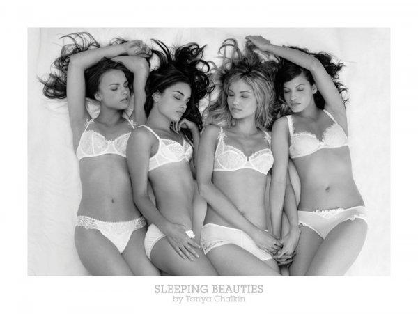 Śpiące piękności - reprodukcja