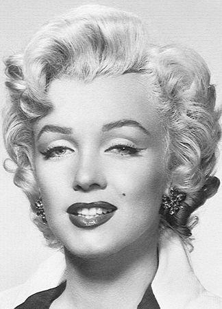 Fototapeta Marilyn Monroe - Fototapety na scianę decoart24.pl